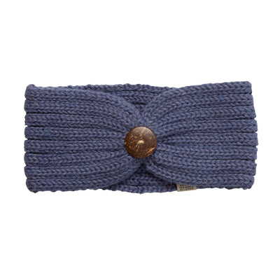 Alpaca Denim Blue Headbands