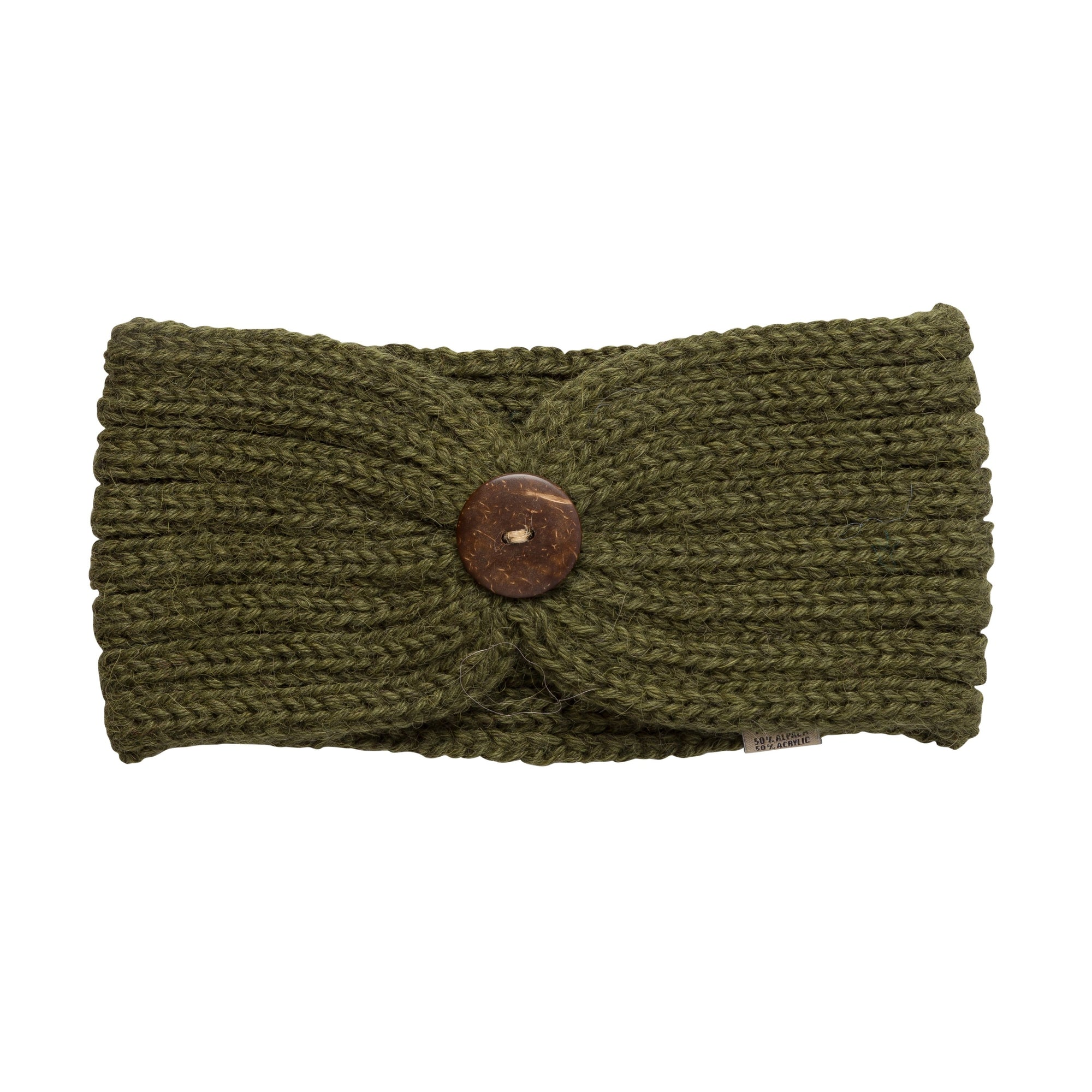 Alpaca Green Headbands