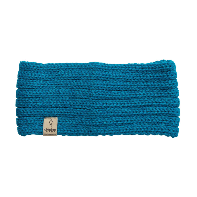 Alpaca Teal Headbands