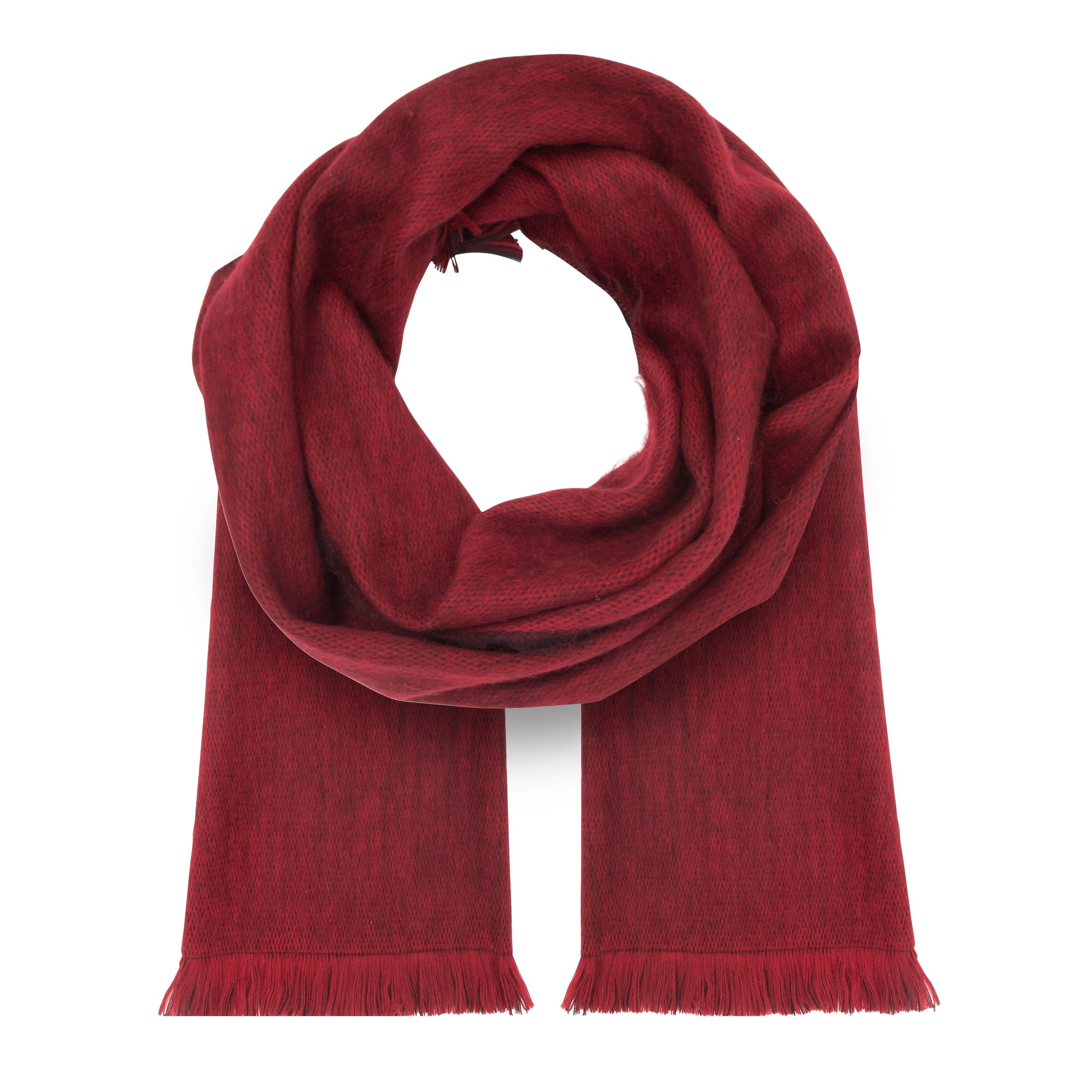 Alpaca Red Scarves