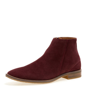 Brighton - Burgundy Chelsea Dress Boots for Men by Jump