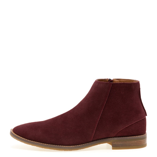 Brighton - Burgundy Chelsea Dress Boots for Men by Jump 2