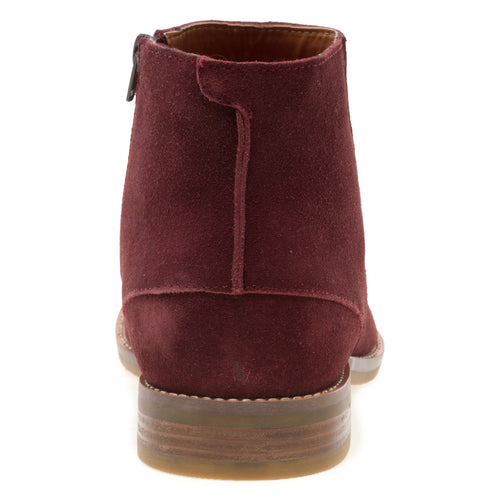 Brighton - Burgundy Chelsea Dress Boots for Men by Jump 3