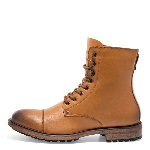 Cylinder - Dark Tan Motorcycle Boots for Men by J75 2