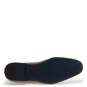 Gem-II - Gold Dress Loafers for Men by Jump 4