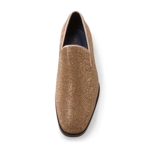 Gem-II - Gold Dress Loafers for Men by Jump 6