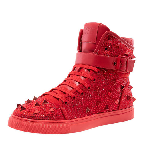 Red High Top Sneaker