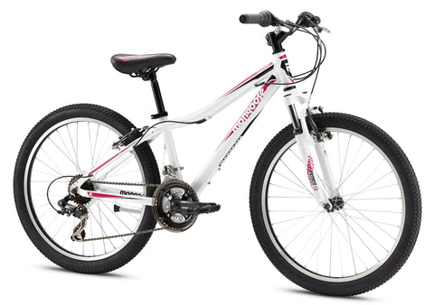 Mongoose Rockadile Comp 24 Inch Girls Mountain Bike