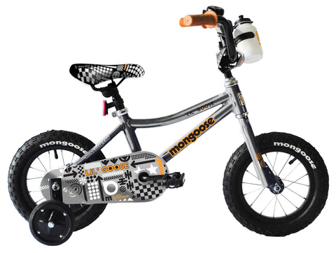 Mongoose Lilgoose Boys 12 Inch Kids Bike 2016