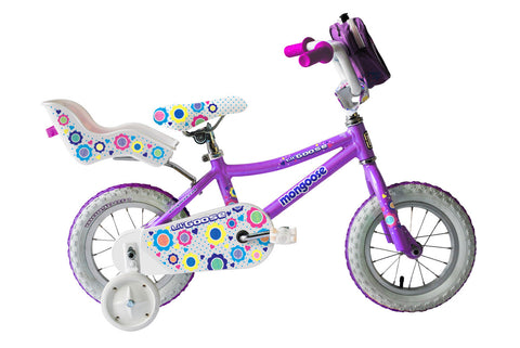 Mongoose Lilgoose Girls 12 Inch Kids Bike 2016