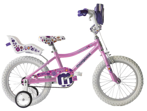 Mongoose Missygoose 16 Inch Kids Bike