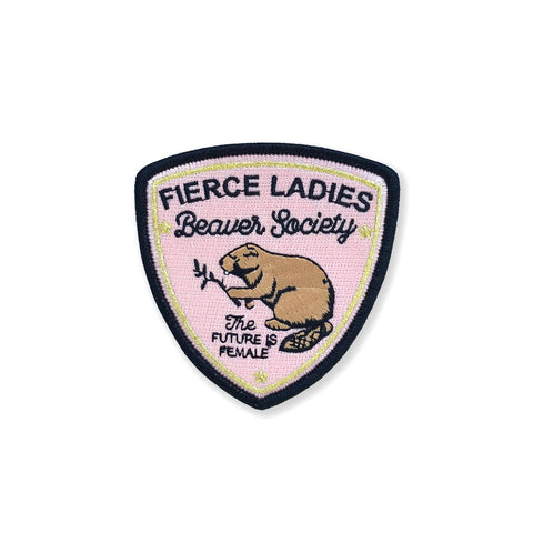 Beaver Society Embroidered Patch