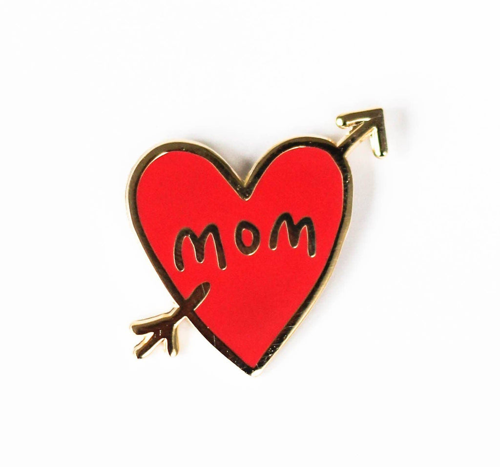 Mom Tattoo Pin