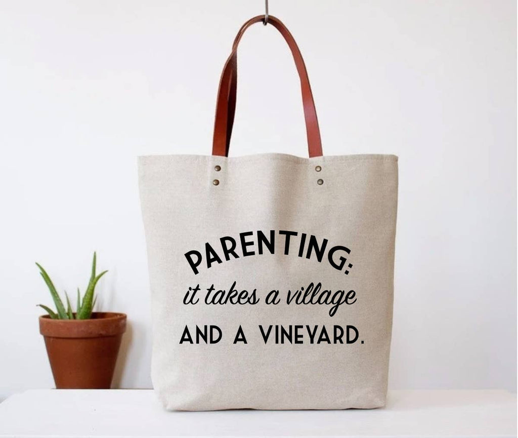 It Takes A Vineyard Tote