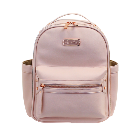 Mini Diaper Bag Backpack- Blush