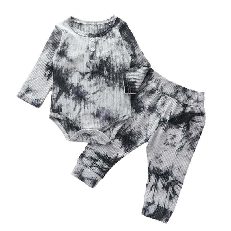 Tie-Dye Onesie and Pants Set