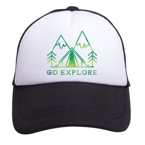 Tiny Trucker Go Explore Hat