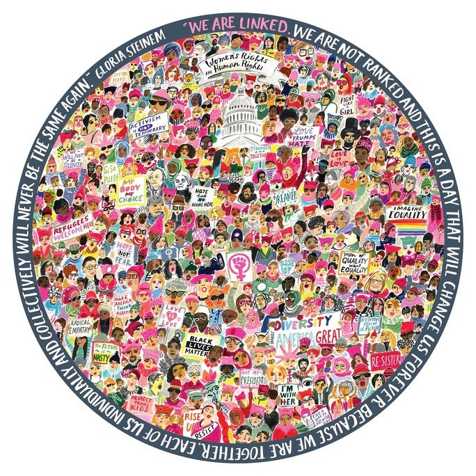 Women's Rights March Puzzle