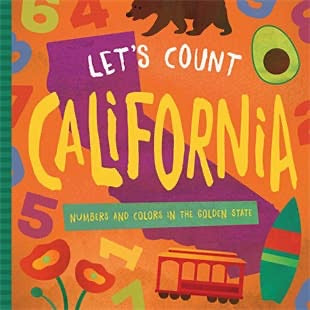 Let's Count California Book