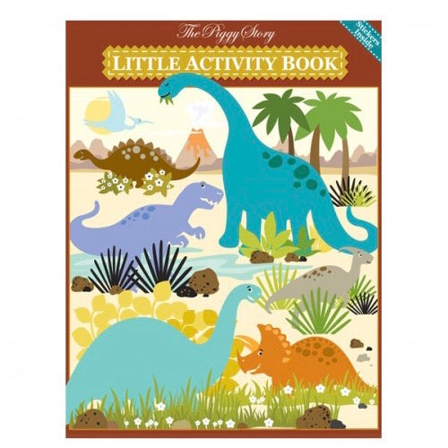 Little Activity Book Dinosaurs