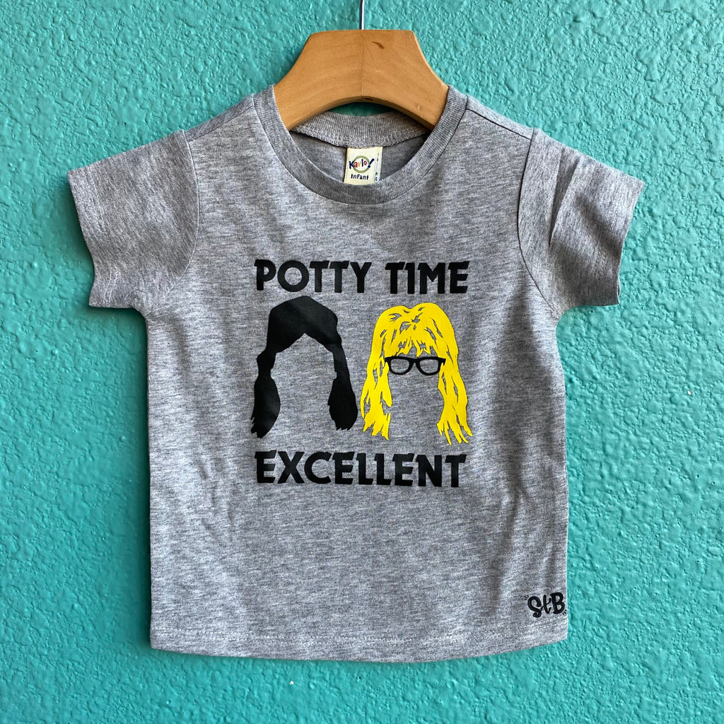 Potty Time Excellent Shirt