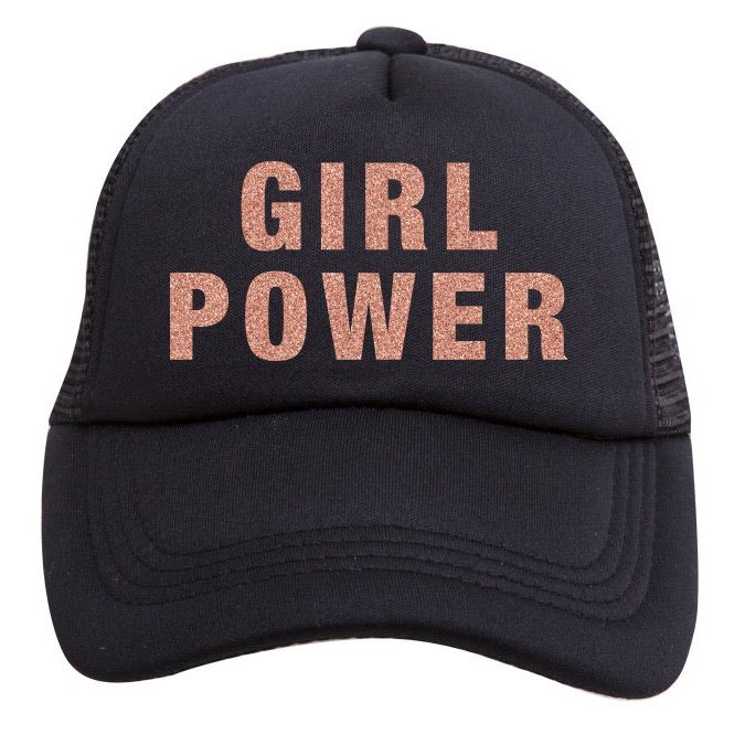 Tiny Trucker Girl Power Hat