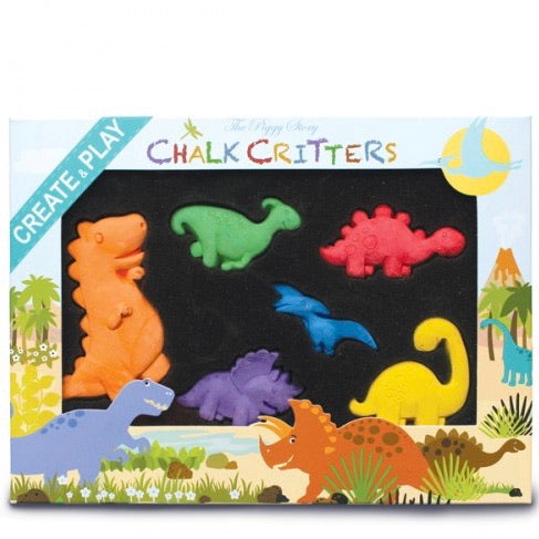 Chalk Critters Dinosaurs