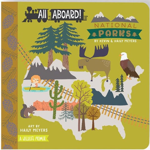 All Aboard National Parks Board Book