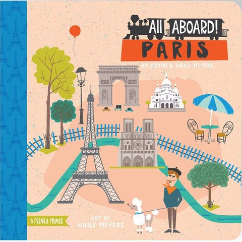 All Aboard Paris Board Book