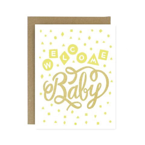 Welcome Baby Greeting Card