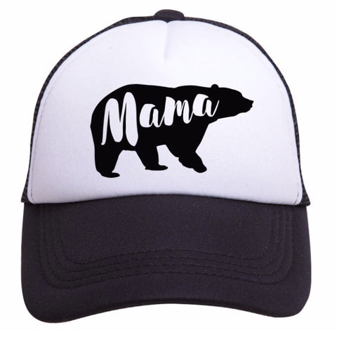 Tiny Trucker Hat Mama Bear