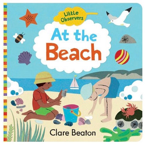 At The Beach Board Book