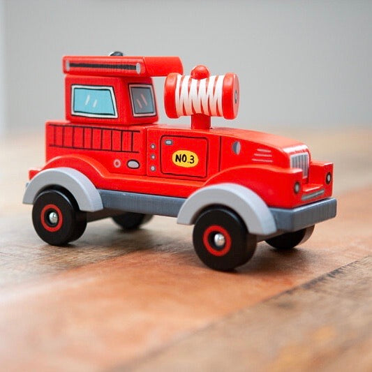 Stack and Play Fire Truck