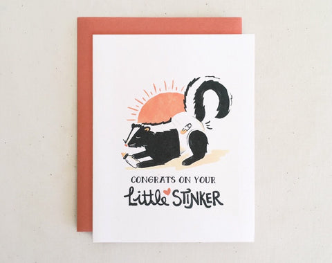 Little Stinker Greeting Card