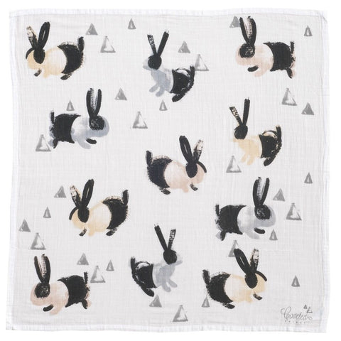 Bunnies Swaddle Blanket