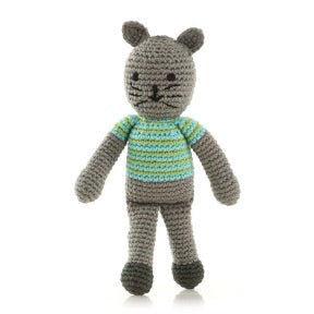 Boy Cat Rattle