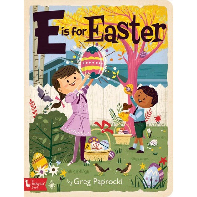 E is for Easter Board Book