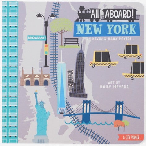 All Aboard New York Board Book