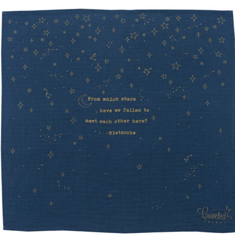 Golden Stars Swaddle Blanket