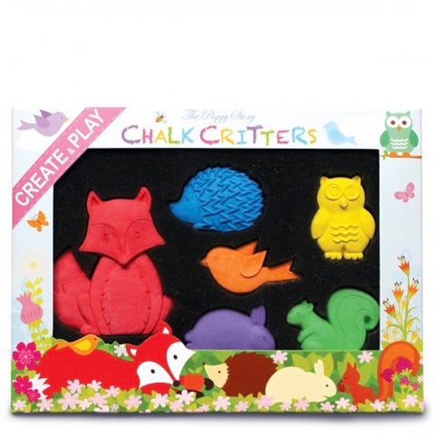 Chalk Critters Woodland Friends