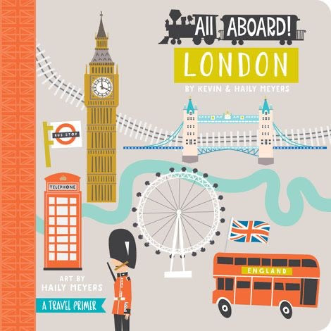 All Aboard London Board Book