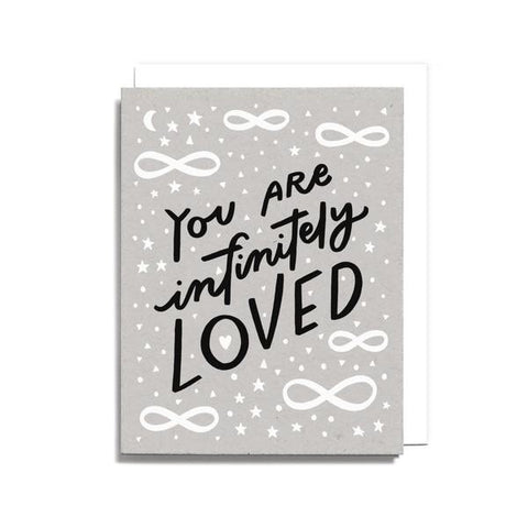 Infinitely Loved Greeting Card