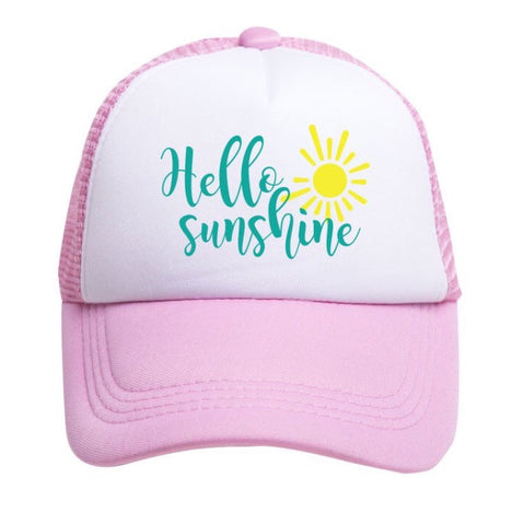 Tiny Trucker Sunshine Hat