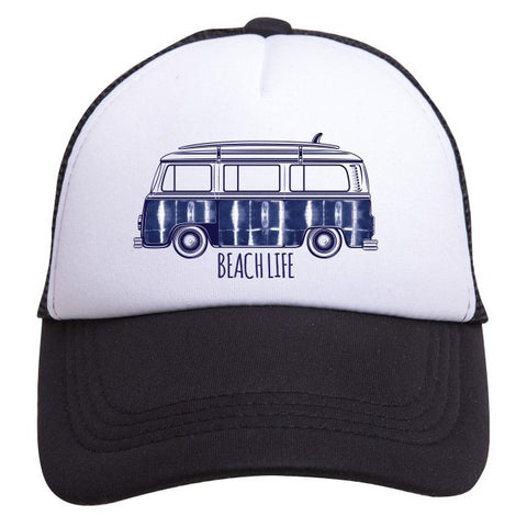 Tiny Trucker Beach Life Hat