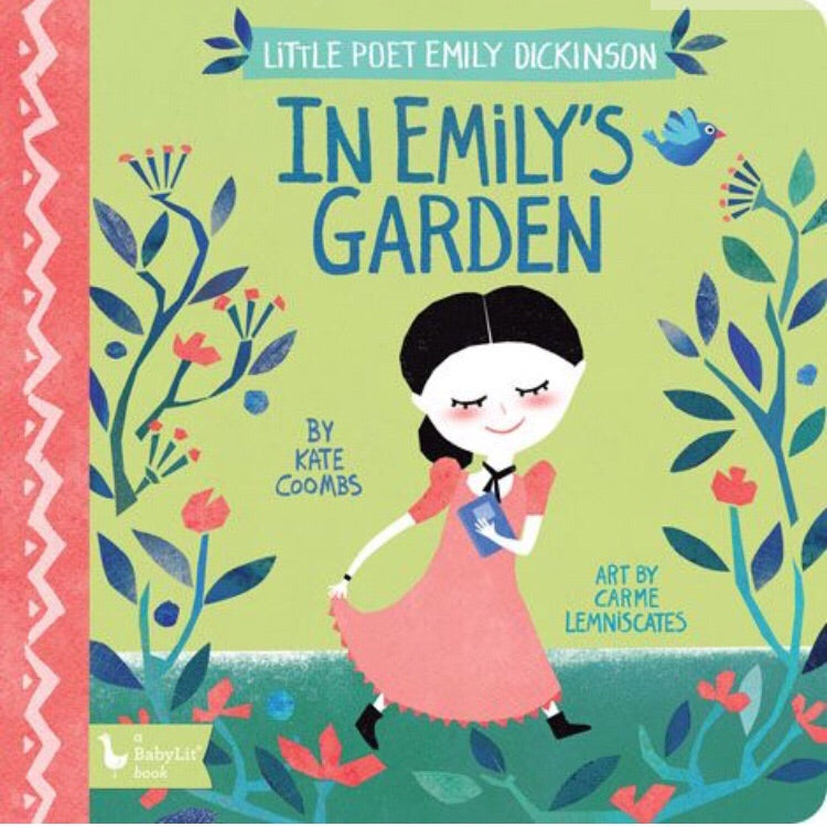In Emily's Garden Board Book