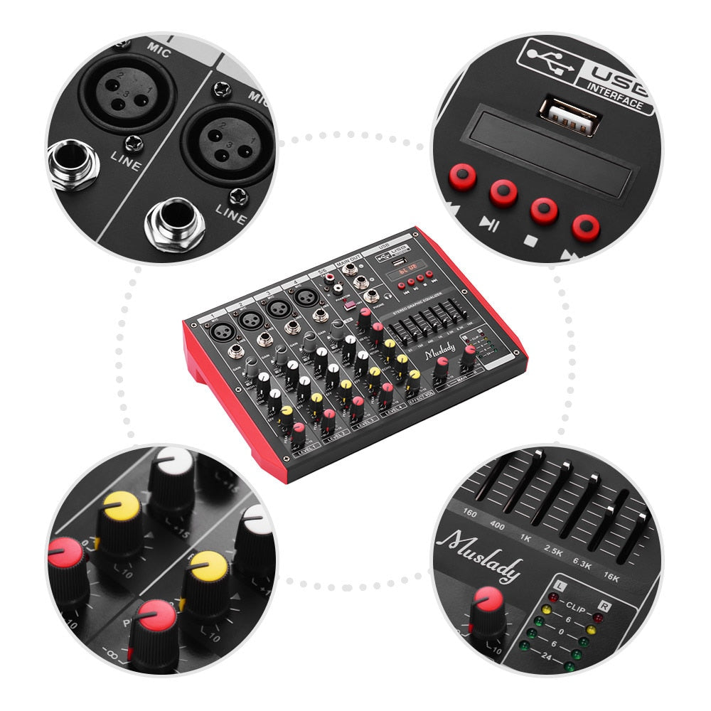 6 Channel Beat Mixer