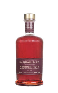 Mr Quail & JT Negroni 1919 Barrel Finished Cocktail