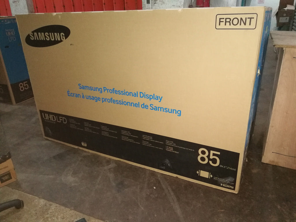 Samsung 85吋 85inch QM85D 4K 專業顯示器 Professional monitor $20500