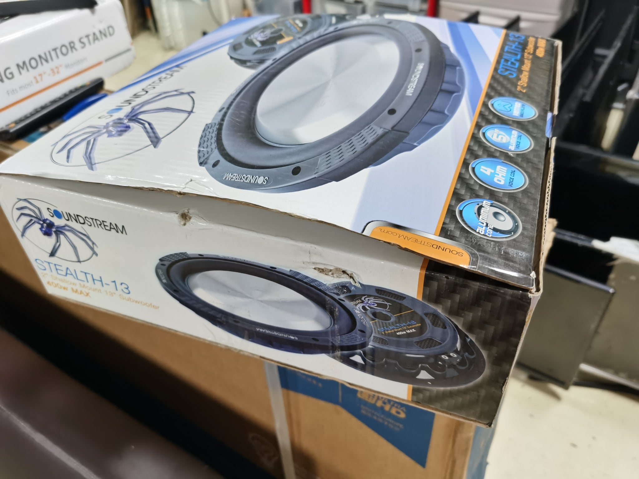 soundstream stealth-13 13吋 13INCH 汽車低音(全新) $2500