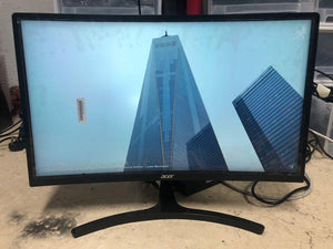 ACER 24吋 24inch ED242QR abidpx 1080p 144hz 電競顯示器 Gaming monitor $1200